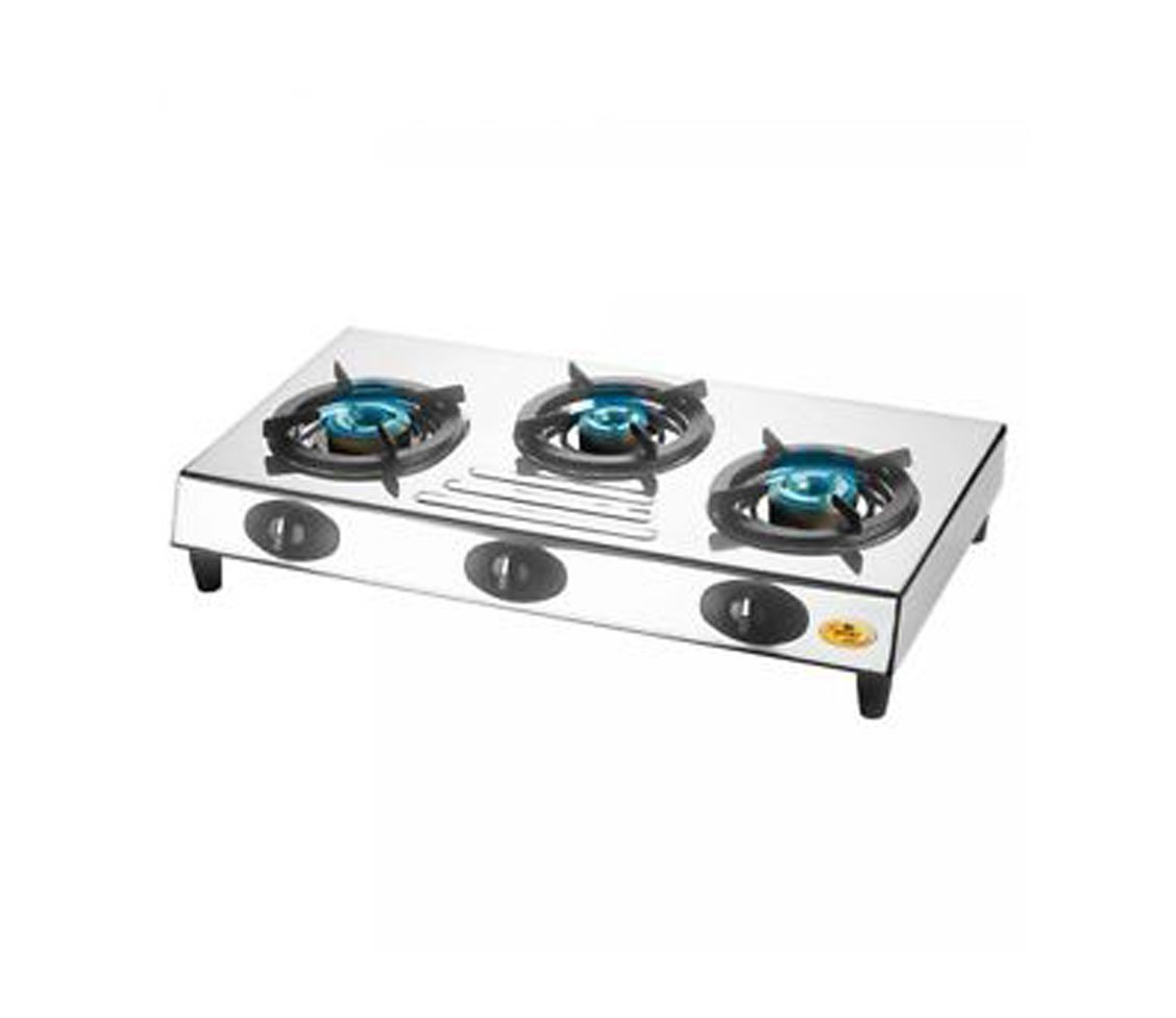 Bajaj CX9 3 Burners Gas Stove Image