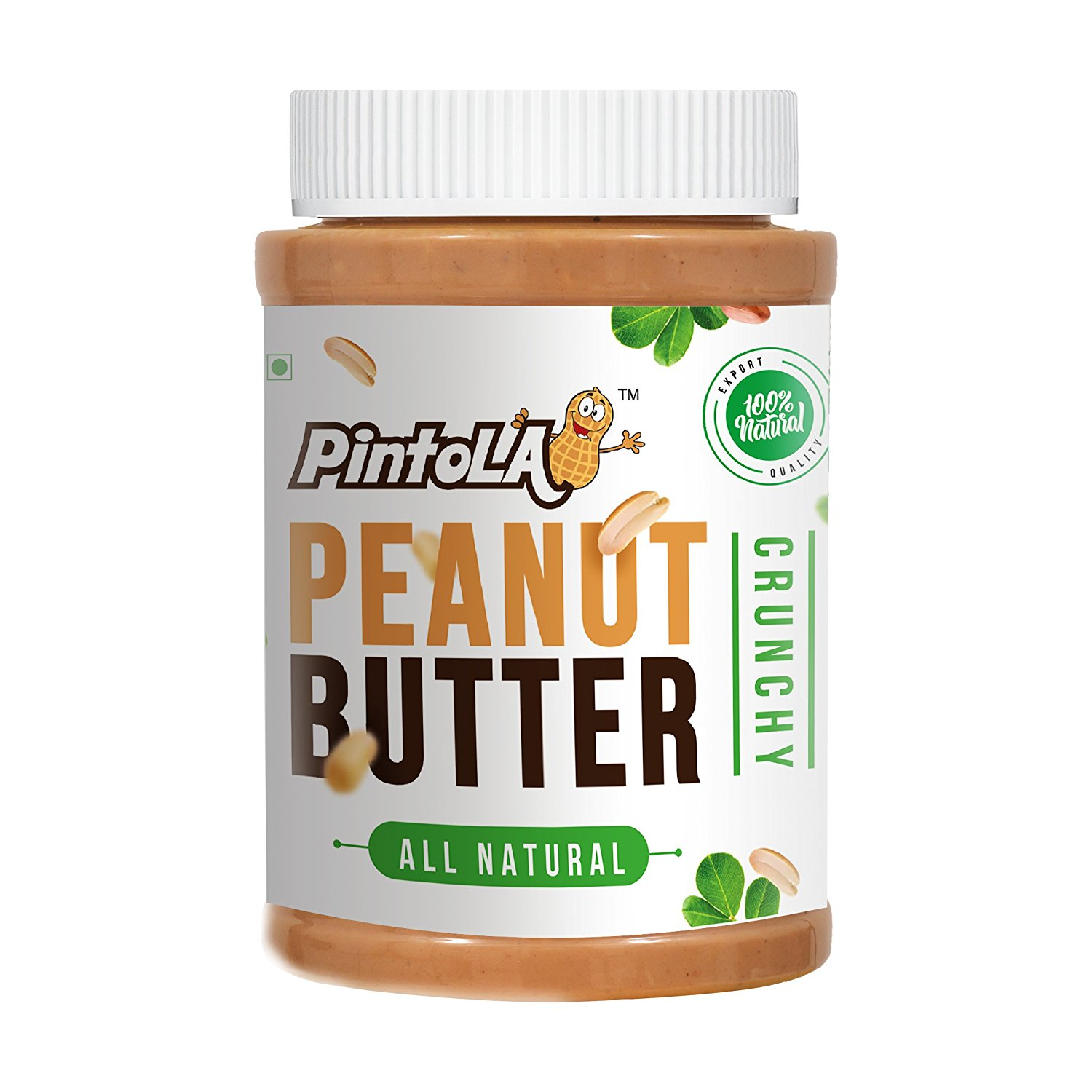 Pintola All Natural Crunchy Peanut Butter Image