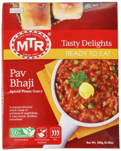 MTR Ready To Eat Pav Bhaji Image