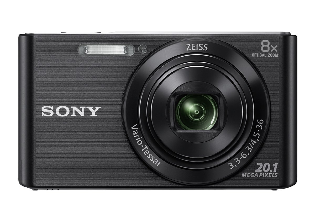 Sony DSC W830 Cybershot Point and Shoot Camera Image