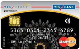 Yes First Exclusive Credit Card Image