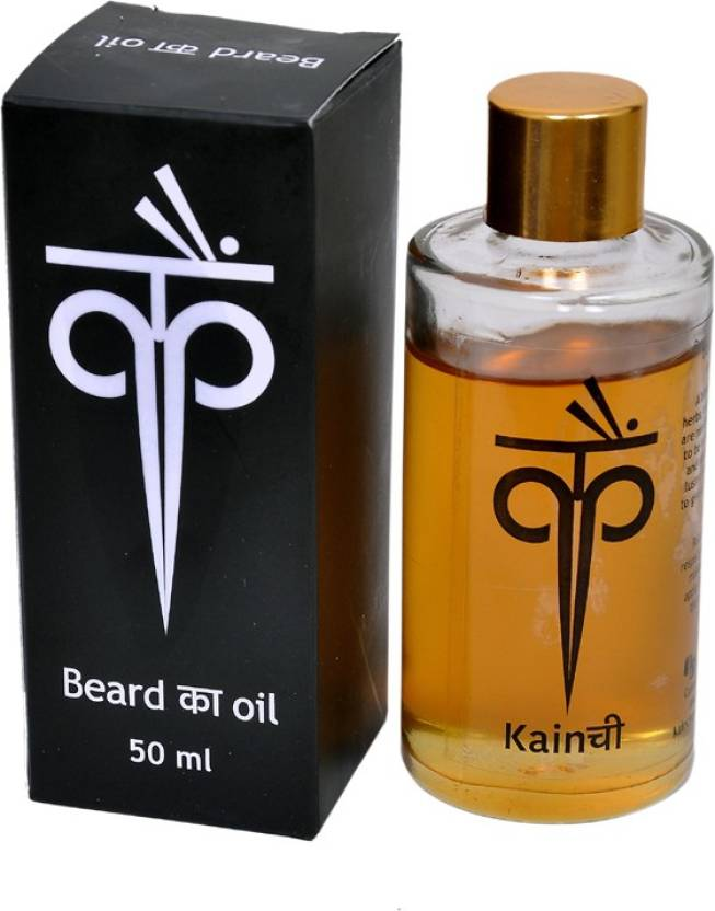 Kainchee Organic Beard And Moustache Hair Oil Image