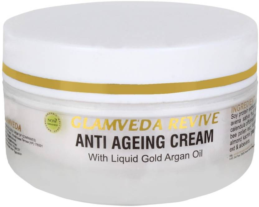 Glamveda Revive Anti Ageing Cream Image