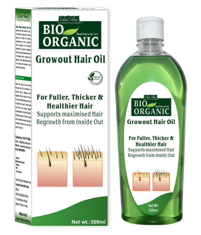 Indus Valley Bio Organic Regrowth Hair Oil Image