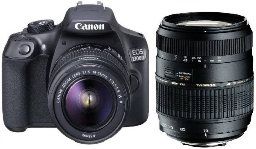CANON 1300D DSLR CAMERA BODY WITH DUAL LENS Review, Price