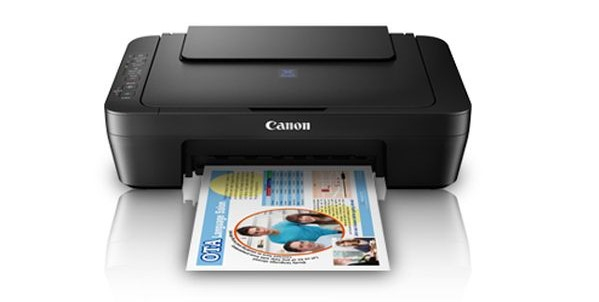 Canon Pixma E470 Multi Function Wireless Ink efficient Inkjet Printer Image