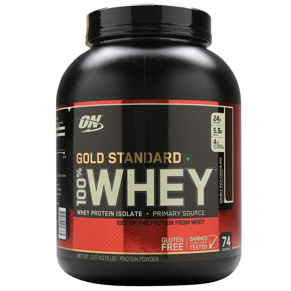 Optimum Nutrition (ON) Gold Standard 100% Whey Protein Powder Image
