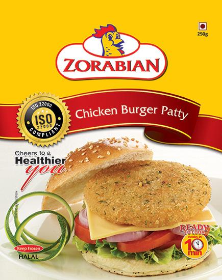 Zorabian Chicken Burger Patty Image