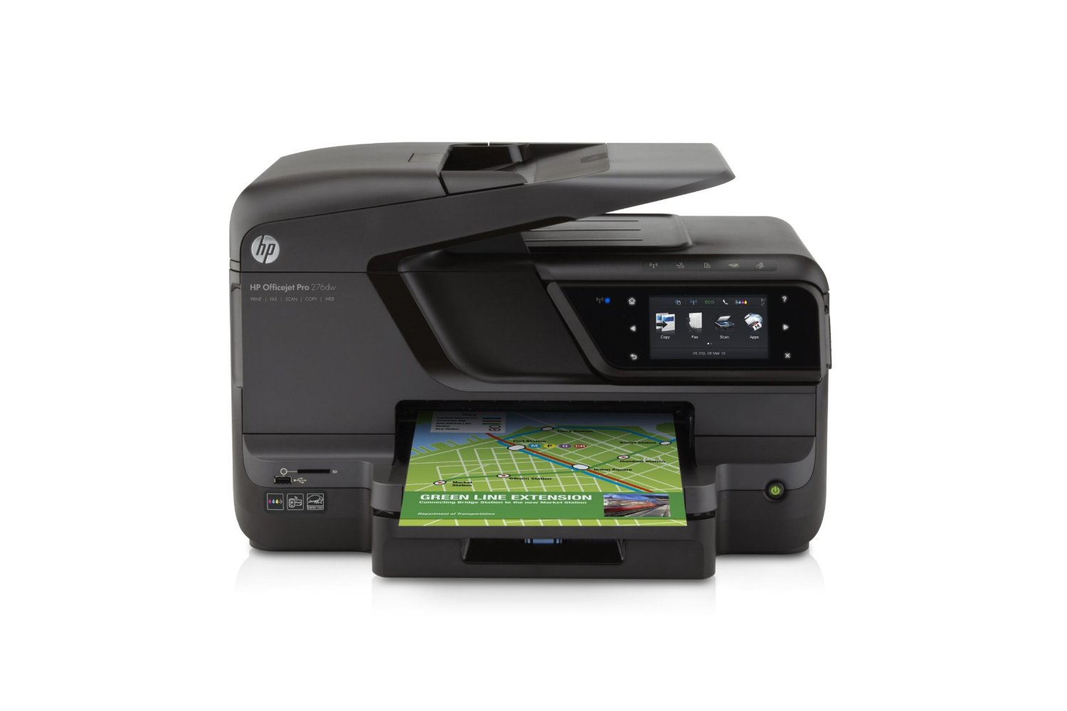 HP OfficeJet Pro 276dw Wireless All-in-One Printer Image