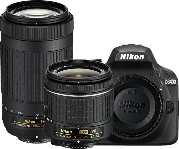 Nikon D3400 DSLR Camera Image