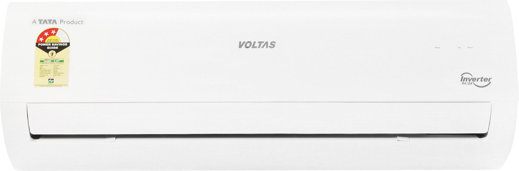 Voltas 183VCZT 1.5 Ton 3 Star BEE Rating 2018 Inverter AC Image