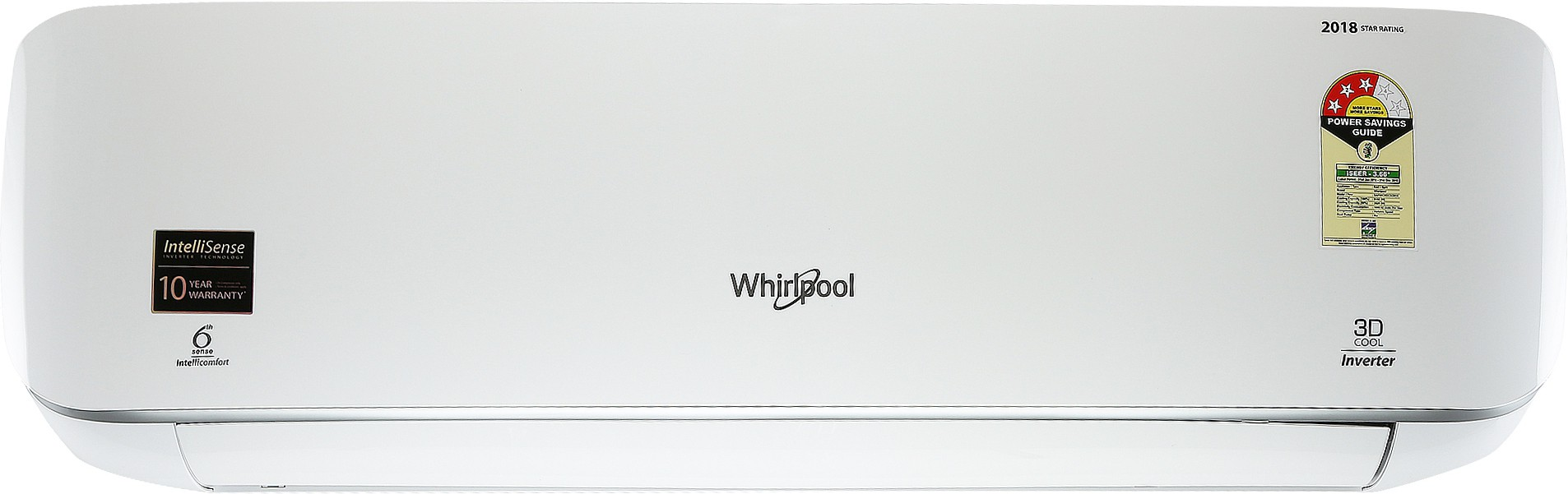 Whirlpool 3D COOL 1.5 Ton 3 Star BEE Rating 2018 Inverter AC Image