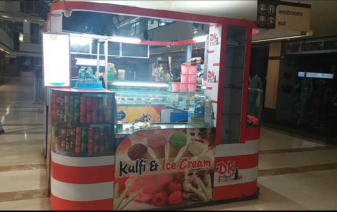 D. K. Chocolate Fountain - V3S Mall - Laxmi Nagar - Delhi NCR Image
