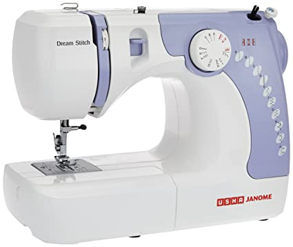 USHA Janome Dream Stitch Automatic Zig-Zag Electric Sewing Machine Image