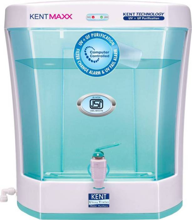 Kent Maxx Litre 7 L UV + UF Water Purifier Image