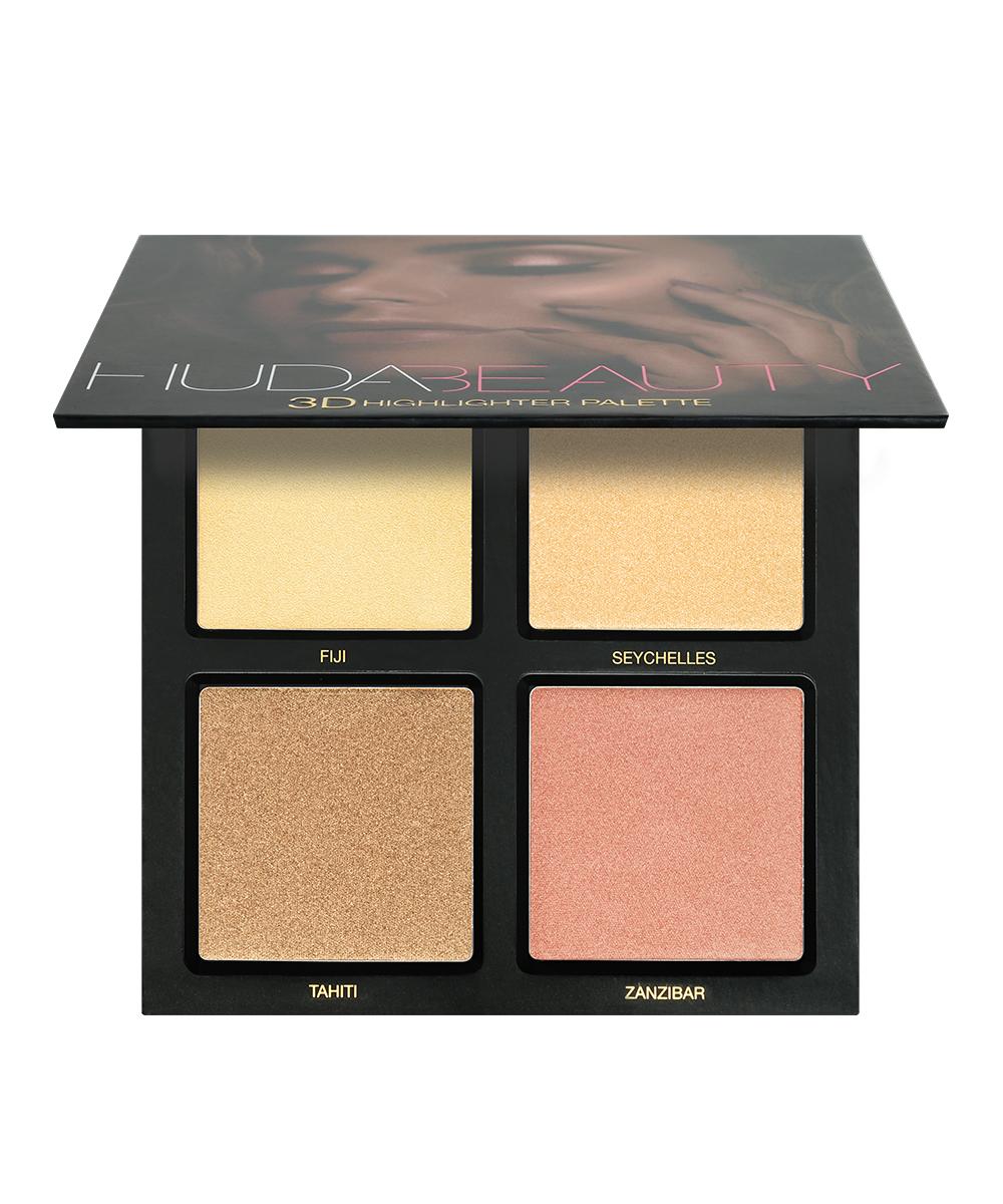Huda Beauty 3D Highlighter Pallet Golden Sands Image