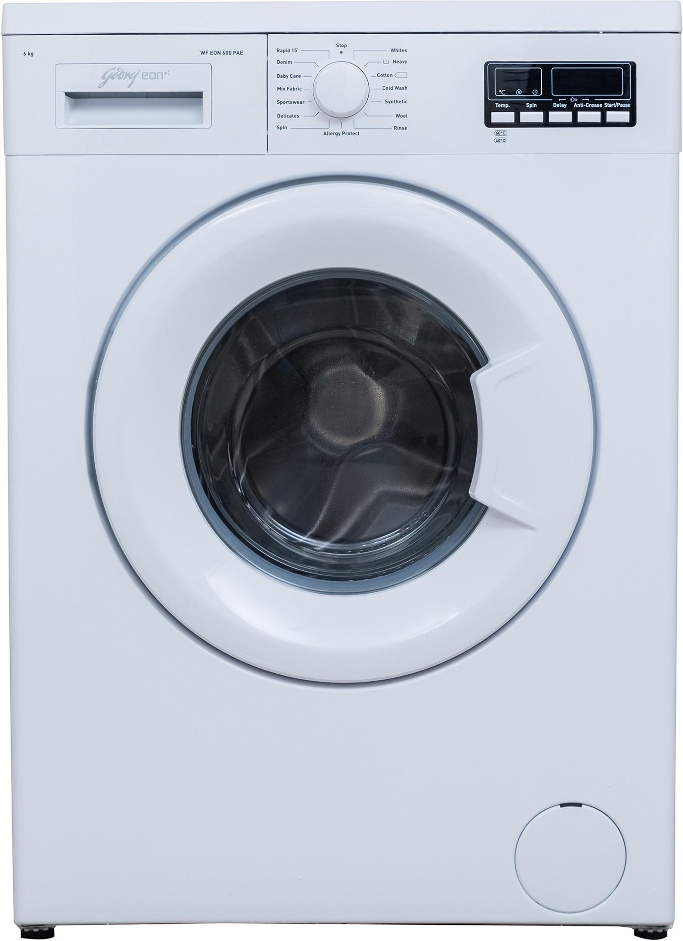 Godrej 6 kg Fully Automatic Front Load Washing Machine (WF Eon 600 PAE) Image