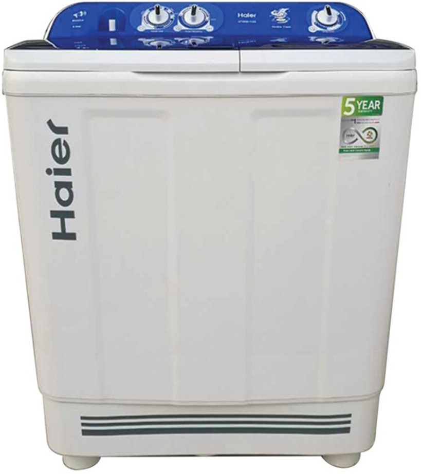 Haier 8 kg Semi Automatic Top Load Washing Machine , (HTW80-1128) Image