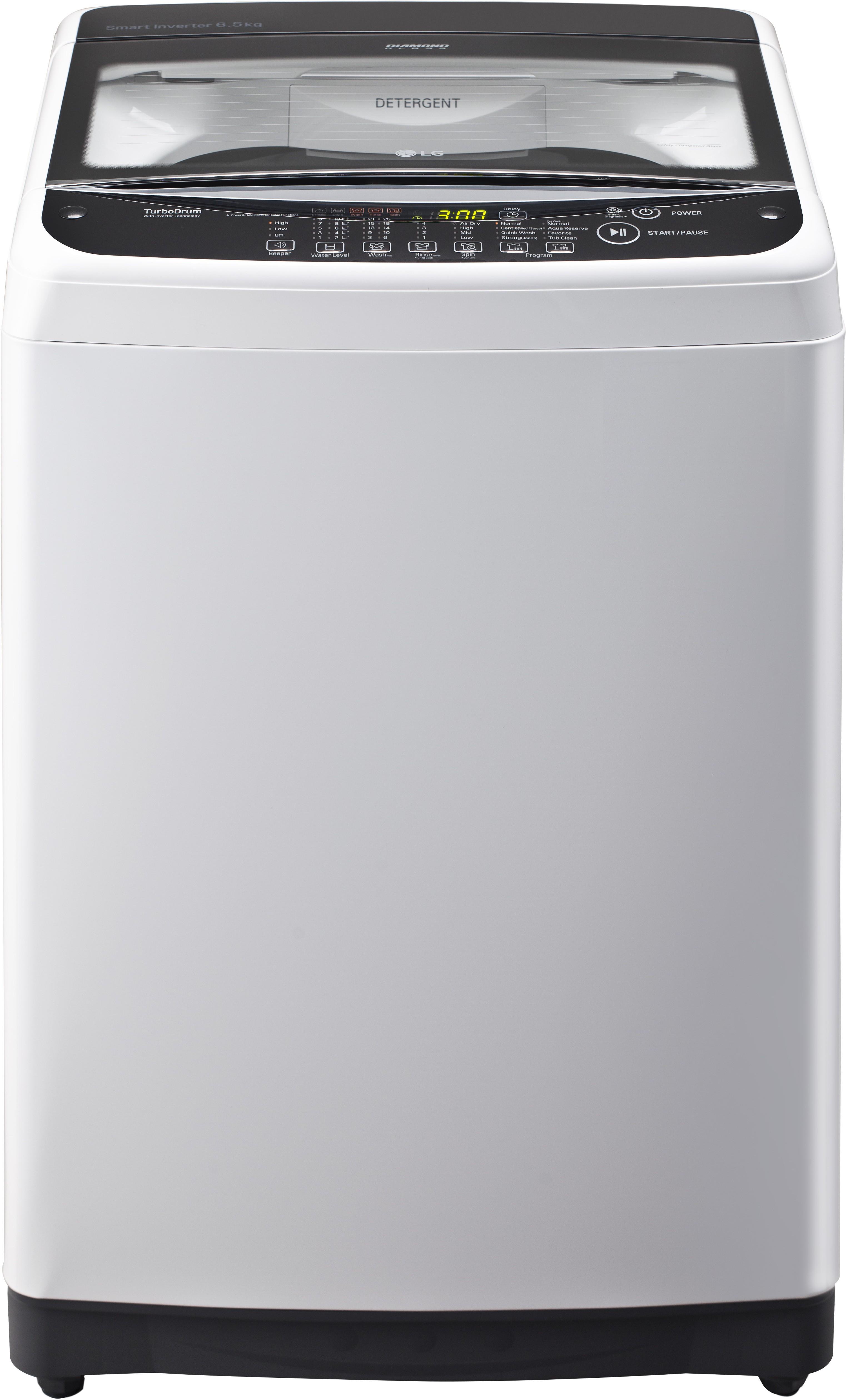 LG 6.5 kg Fully Automatic Top Load Washing Machine(T7581NEDLZ) Image