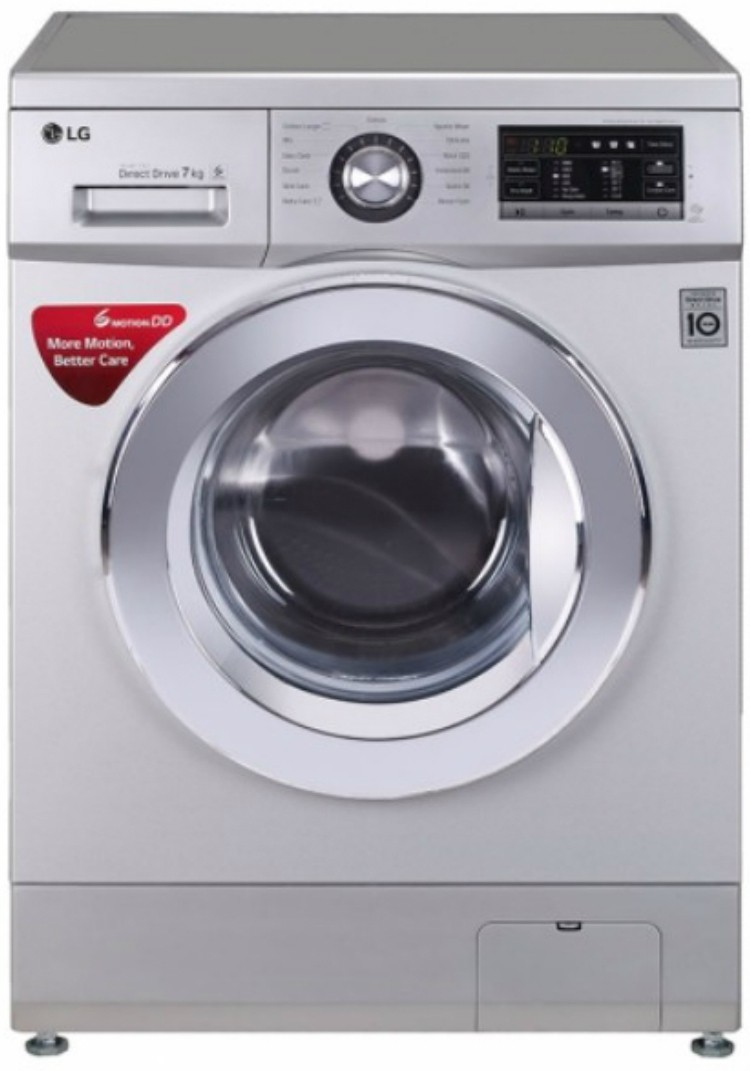LG 7 kg Fully Automatic Front Load Washing Machine (FH2G6HDNL42) Image
