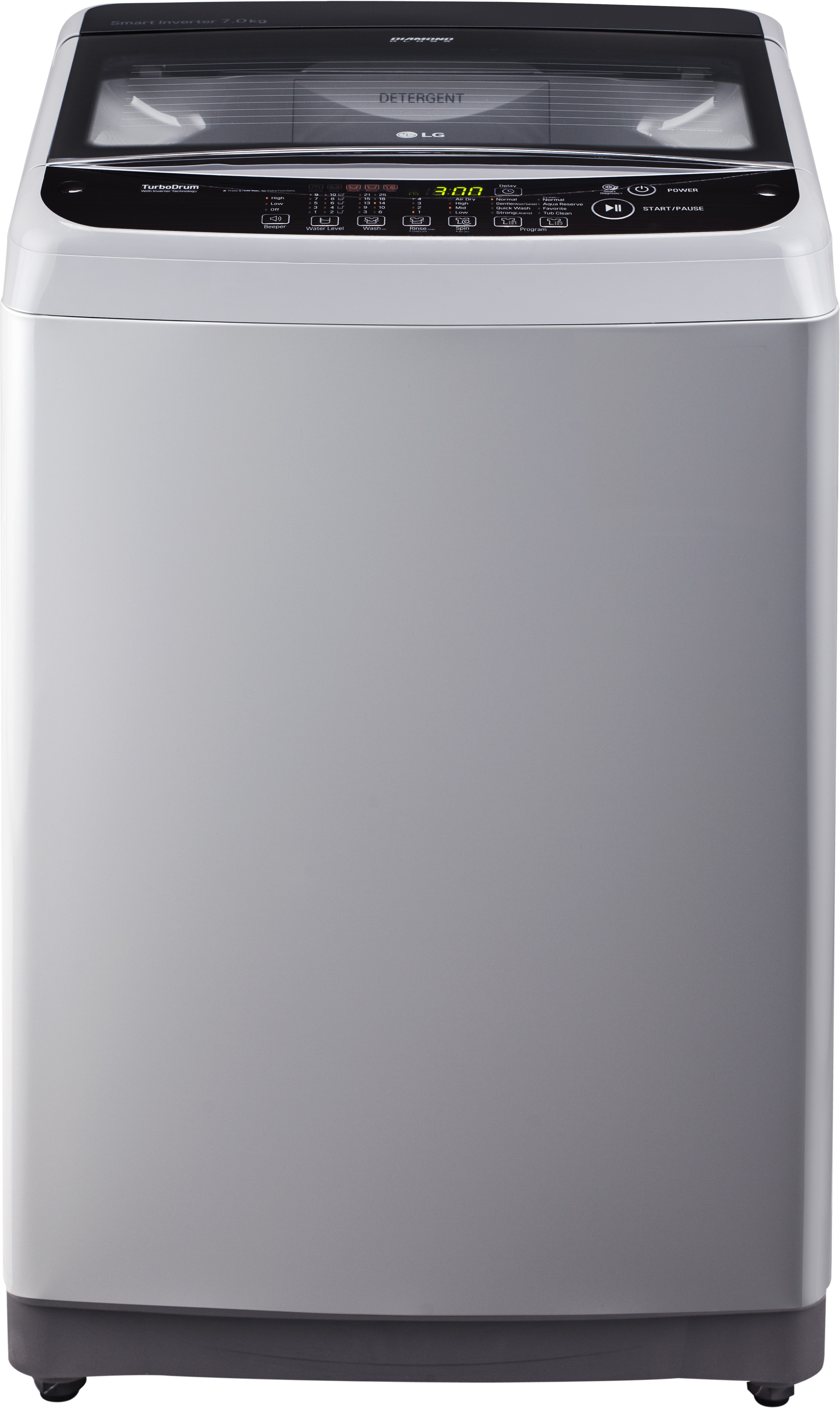 Lg 7 Kg Fully Automatic Top Load Washing Machine T8081nedlj