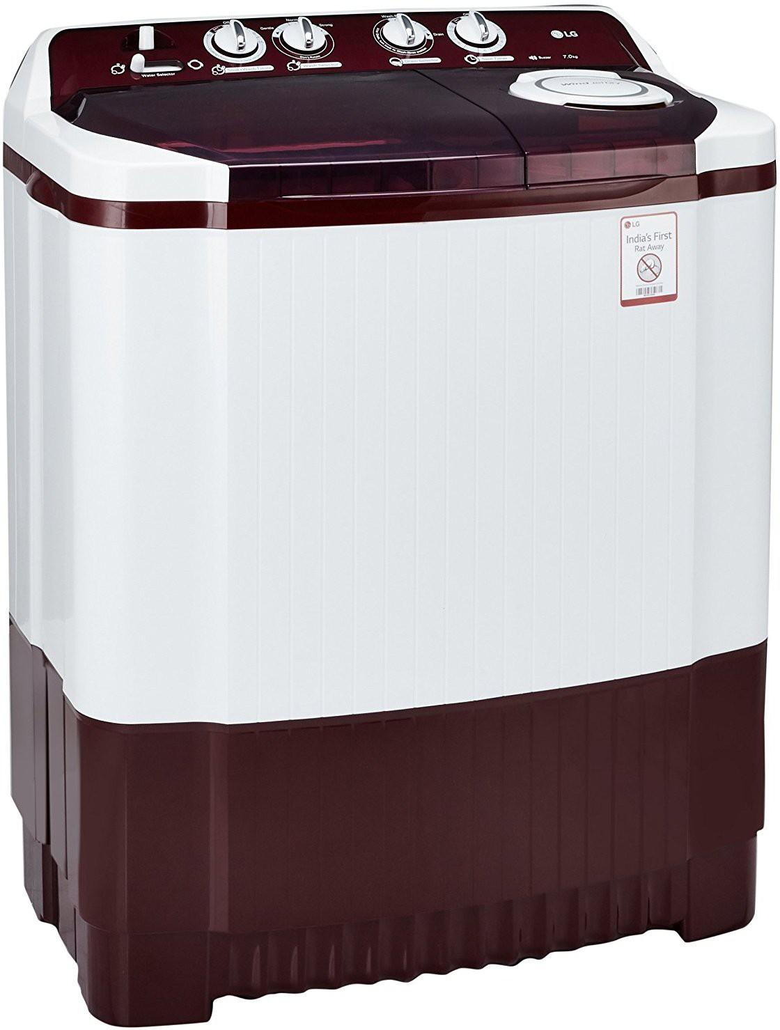 LG 7 kg Semi Automatic Top Load Washing Machine (P8053R3SA) Image