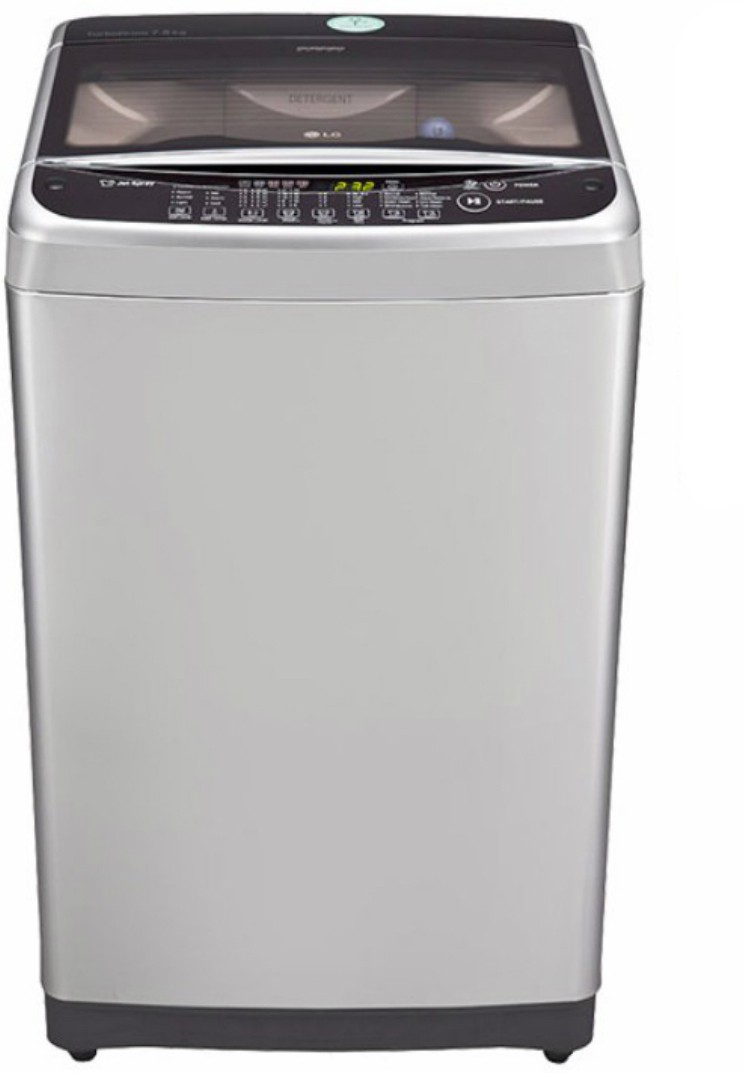 LG 7.5 kg Fully Automatic Top Load Washing Machine (T8577TEELY) Image