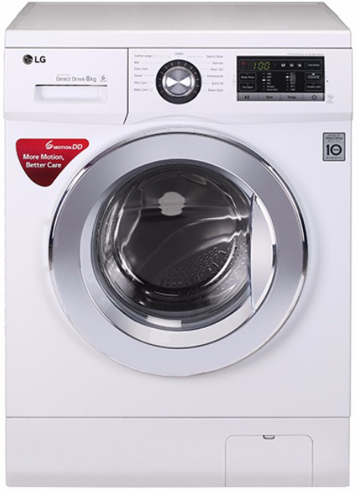LG 8 kg Fully Automatic Front Load Washing Machine(FH4G6TDNL22) Image