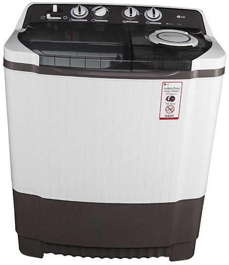 LG 8 kg Semi Automatic Top Load Washing Machine(P9039R3SM) Image