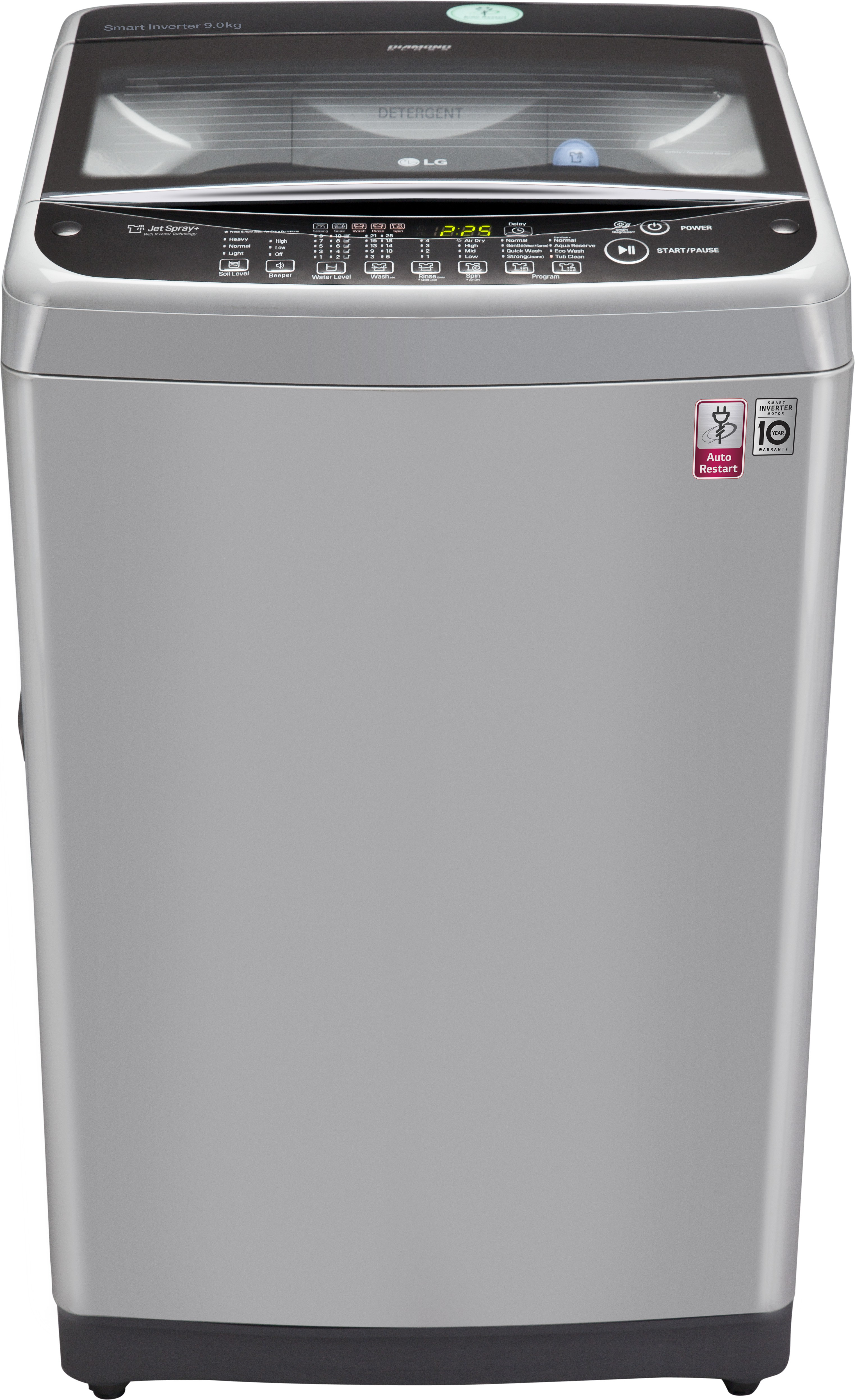 LG 9 kg Fully Automatic Top Load Washing Machine (T1077NEDL1) Image