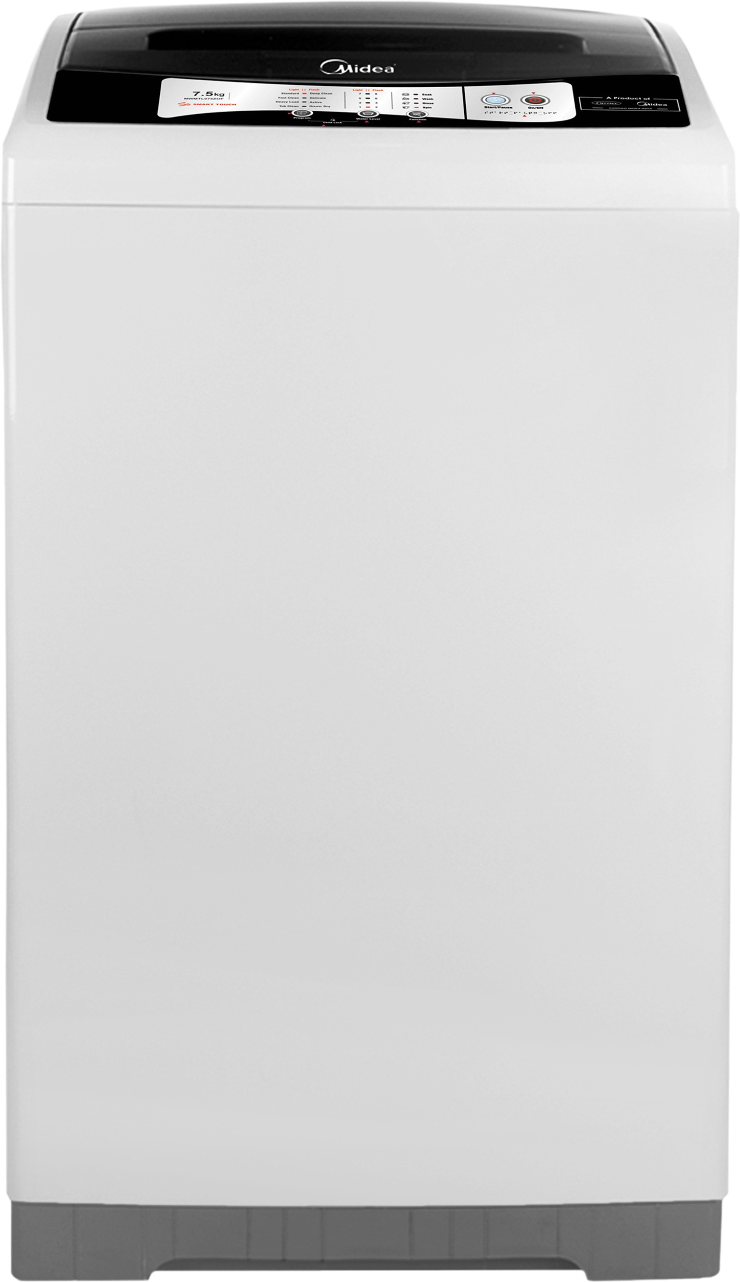 Midea 7.5 kg Fully Automatic Top Load Washing Machine (MWMTL075ZOF) Image