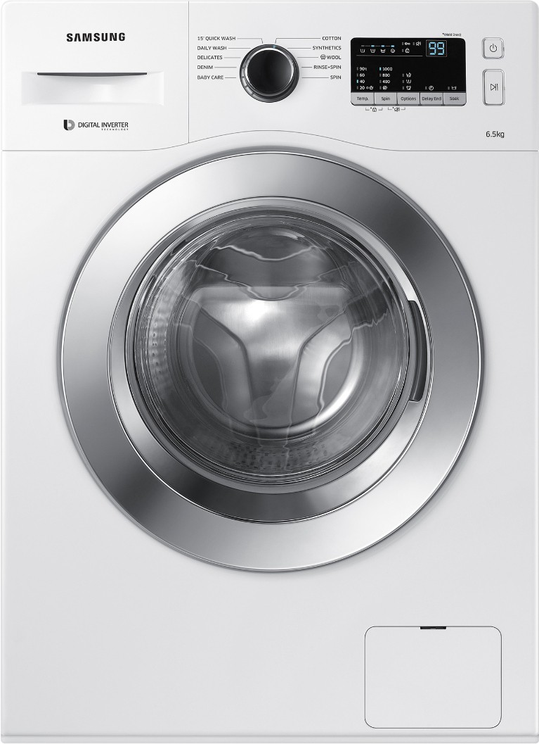 Samsung 6.5 kg Fully Automatic Front Load Washing Machine (WW65M206L0W/TL) Image