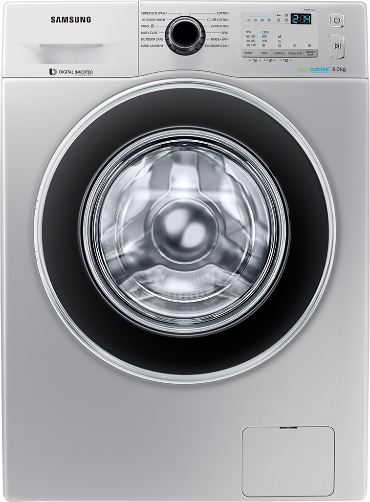 Samsung 8 kg Fully Automatic Front Load Washing Machine (WW80J4213GS/TL) Image