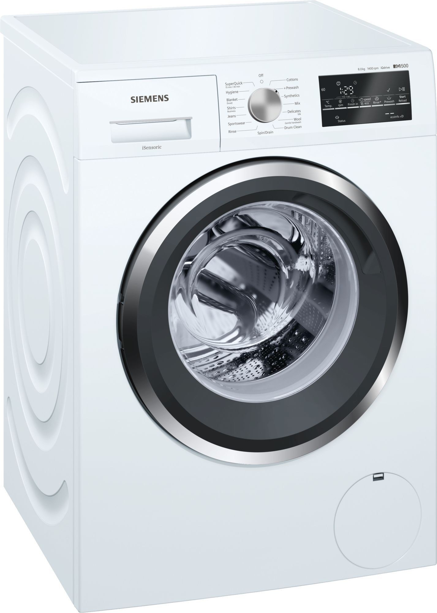 Siemens 8 kg Fully Automatic Front Load Washing Machine WM14T461IN Image