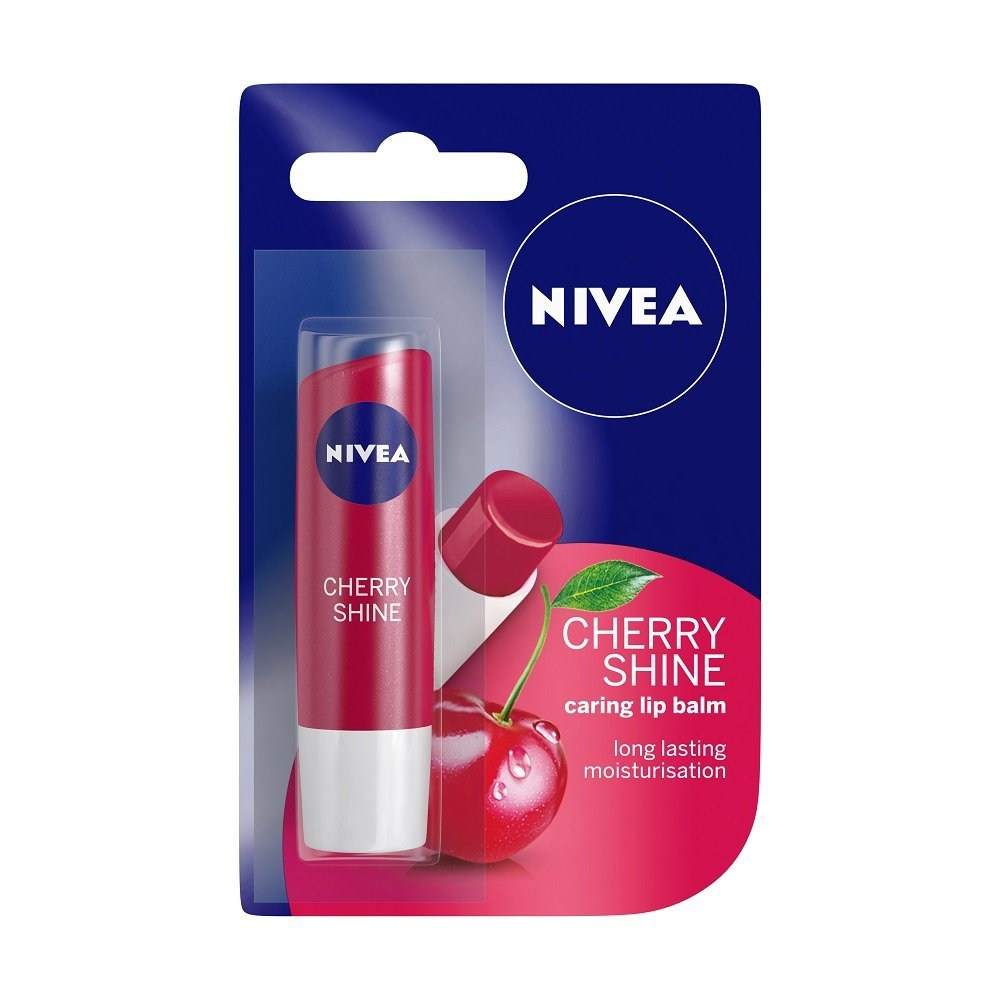 Nivea Lip Care Fruity Shine Cherry Image