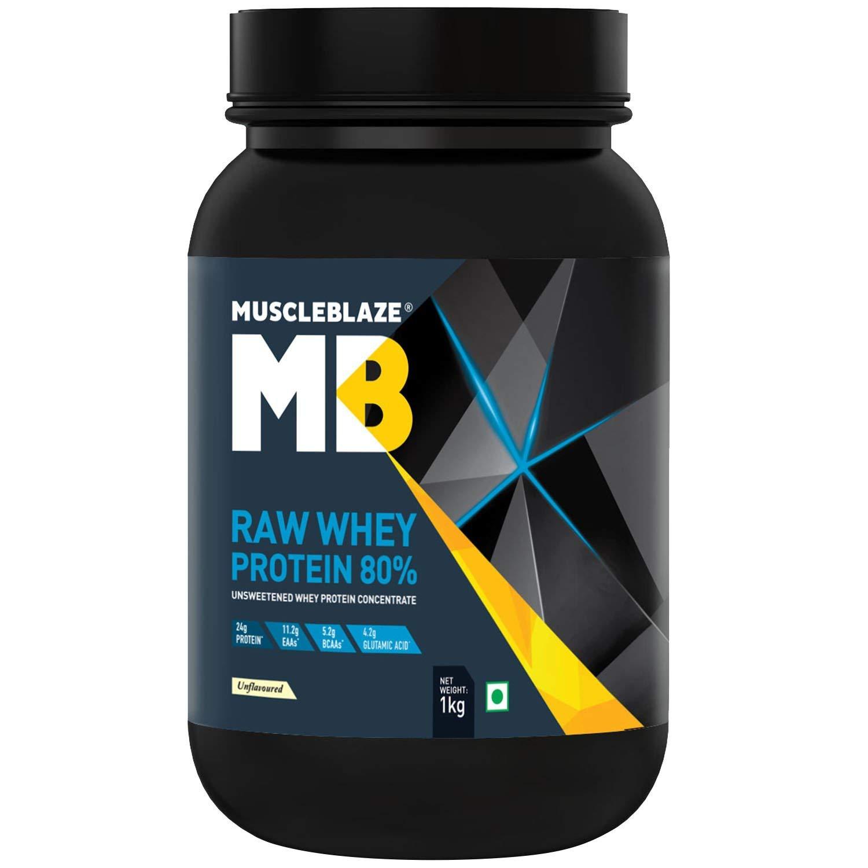 MuscleBlaze Raw Whey Protein Image