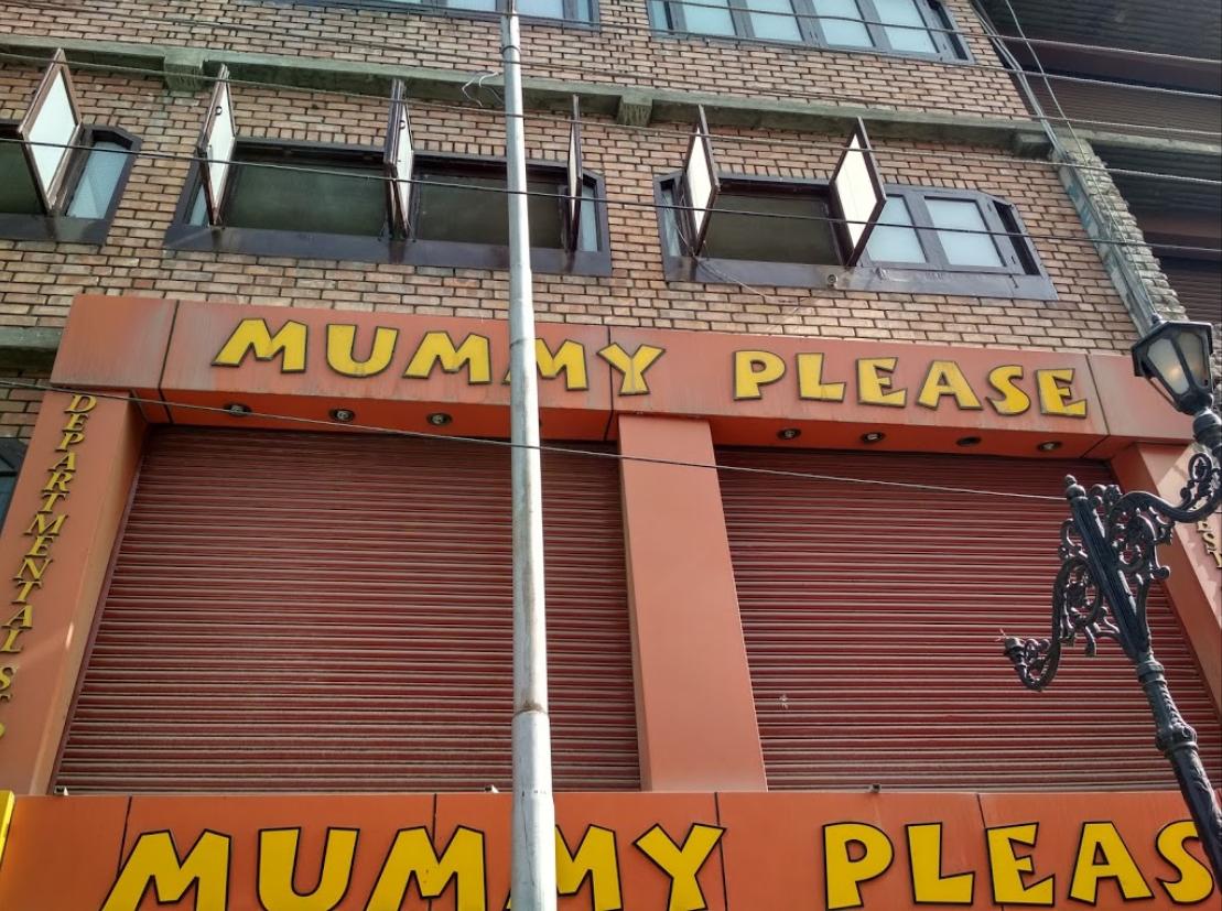 Mummy Please - Lal Chowk - Srinagar Image