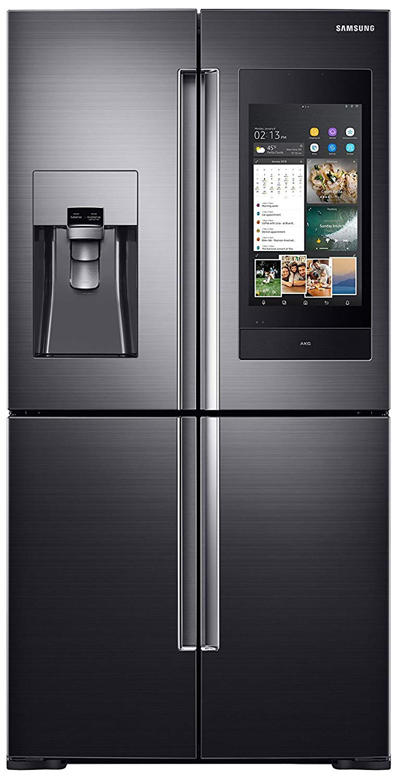 Samsung 810 L Inverter Frost Free Side by Side Refrigerator (RF28N9780SG/TL) Image
