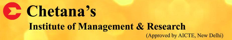 Chetana's Institute of Management and Research (CIMR) - Mumbai Image