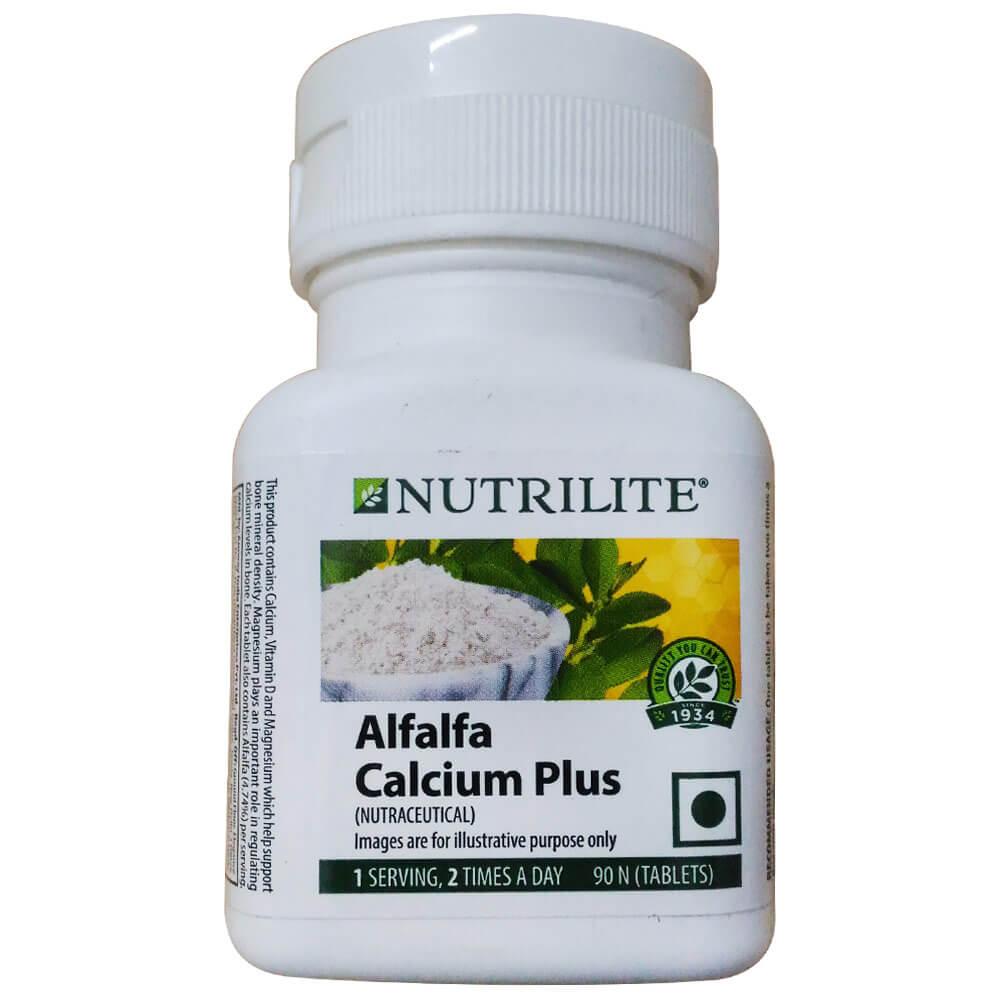 Amway Nutrilite Alfalfa Calcium Plus Image
