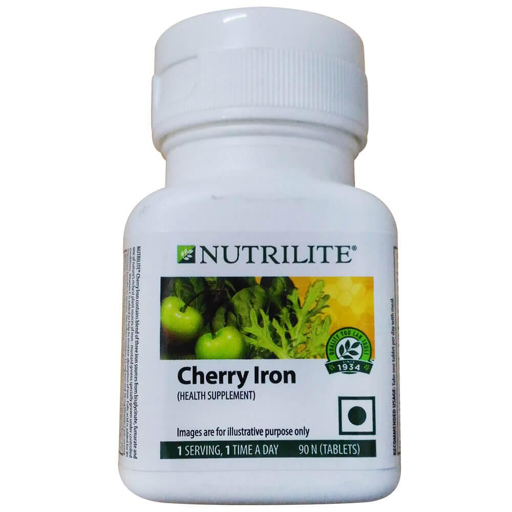 Amway Nutrilite Cherry Iron Image