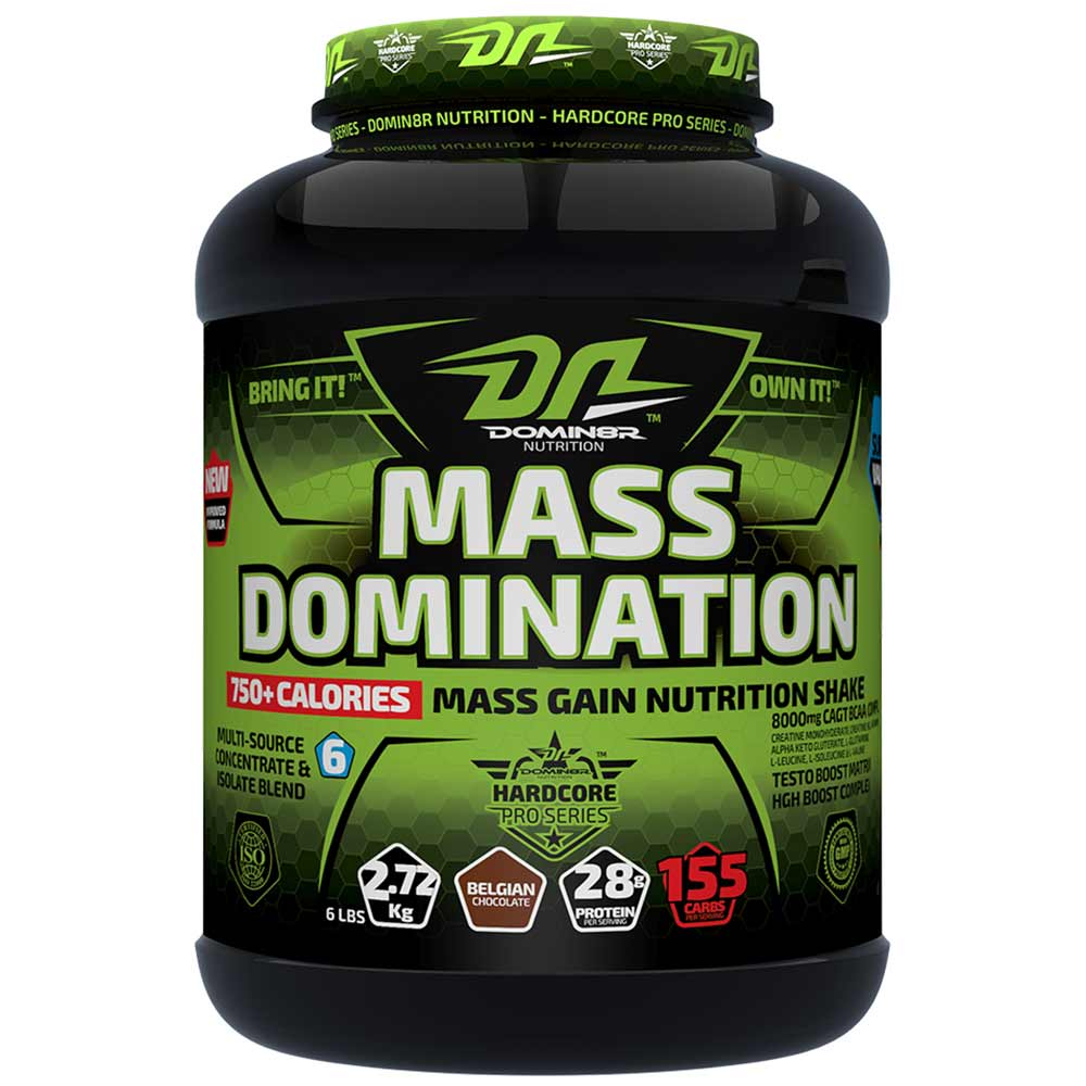 Domin8r Nutrition Mass Domination Image