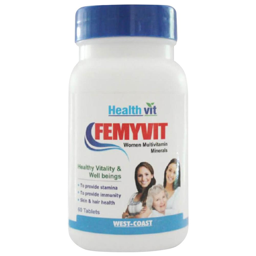 Healthvit AtoZ FEMYVIT Women Multivitamin Minerals Image