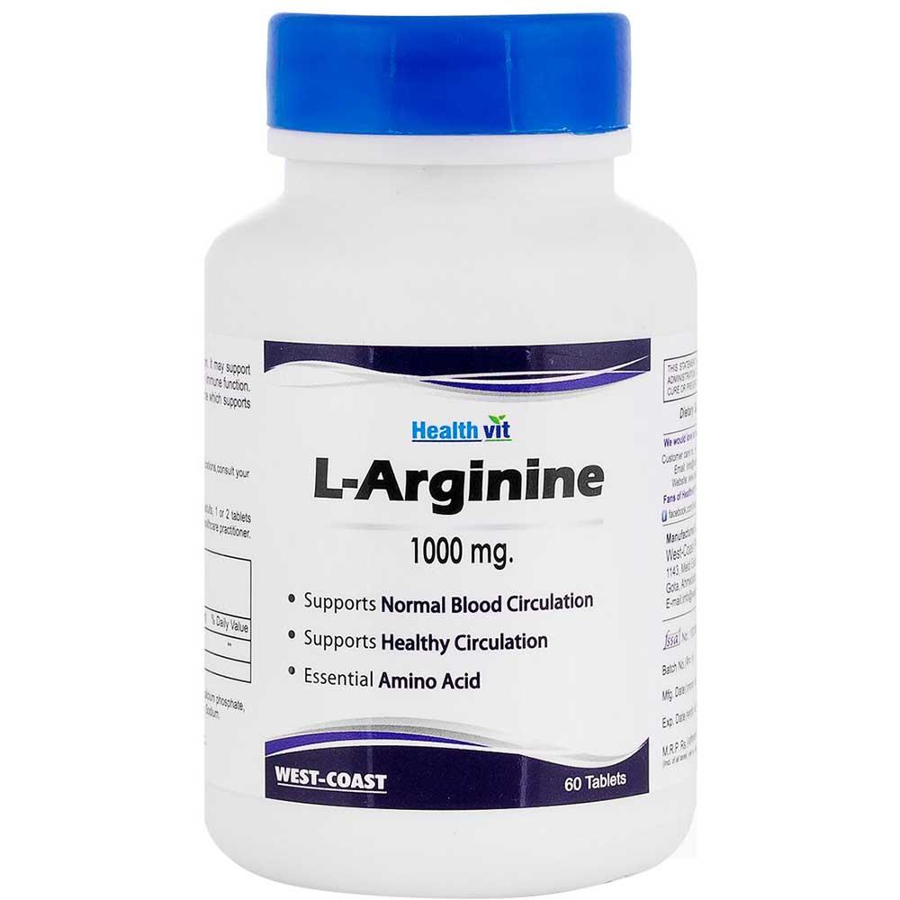 Healthvit L-Arginine Image