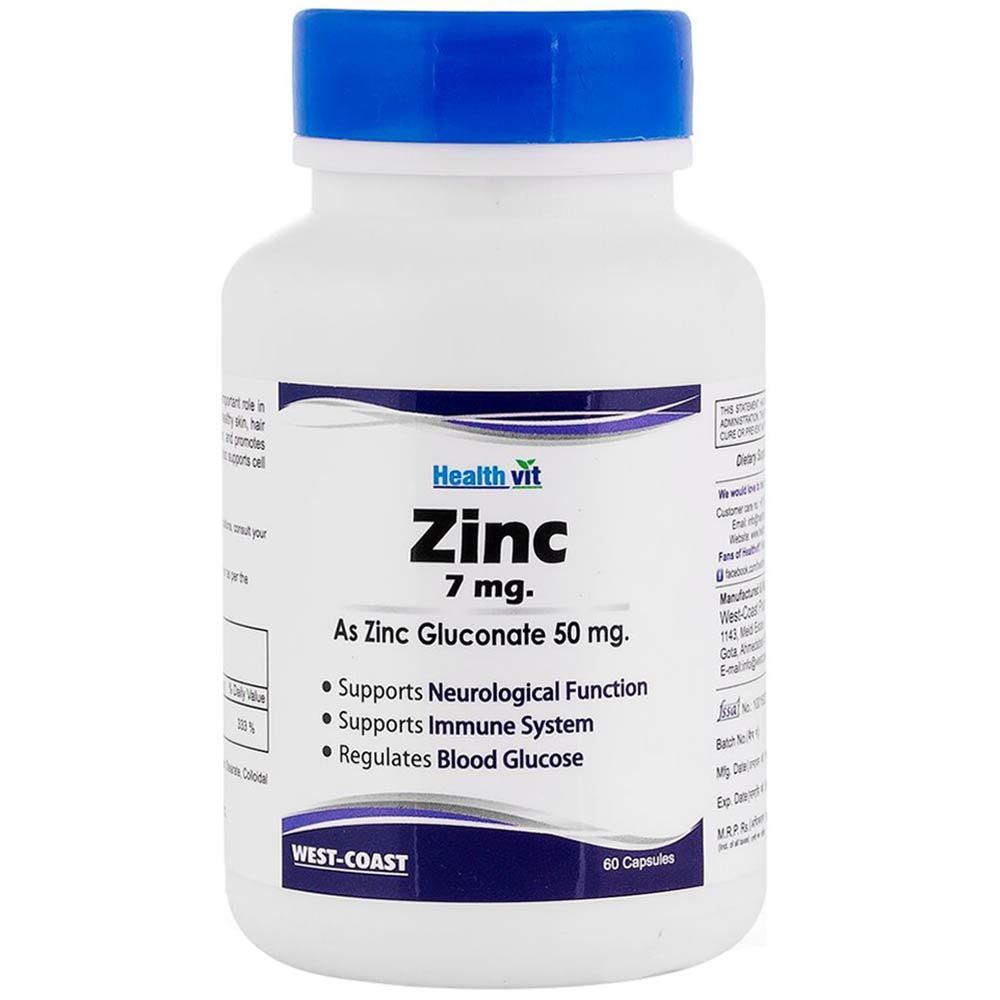 Healthvit Zinc Gluconate Image