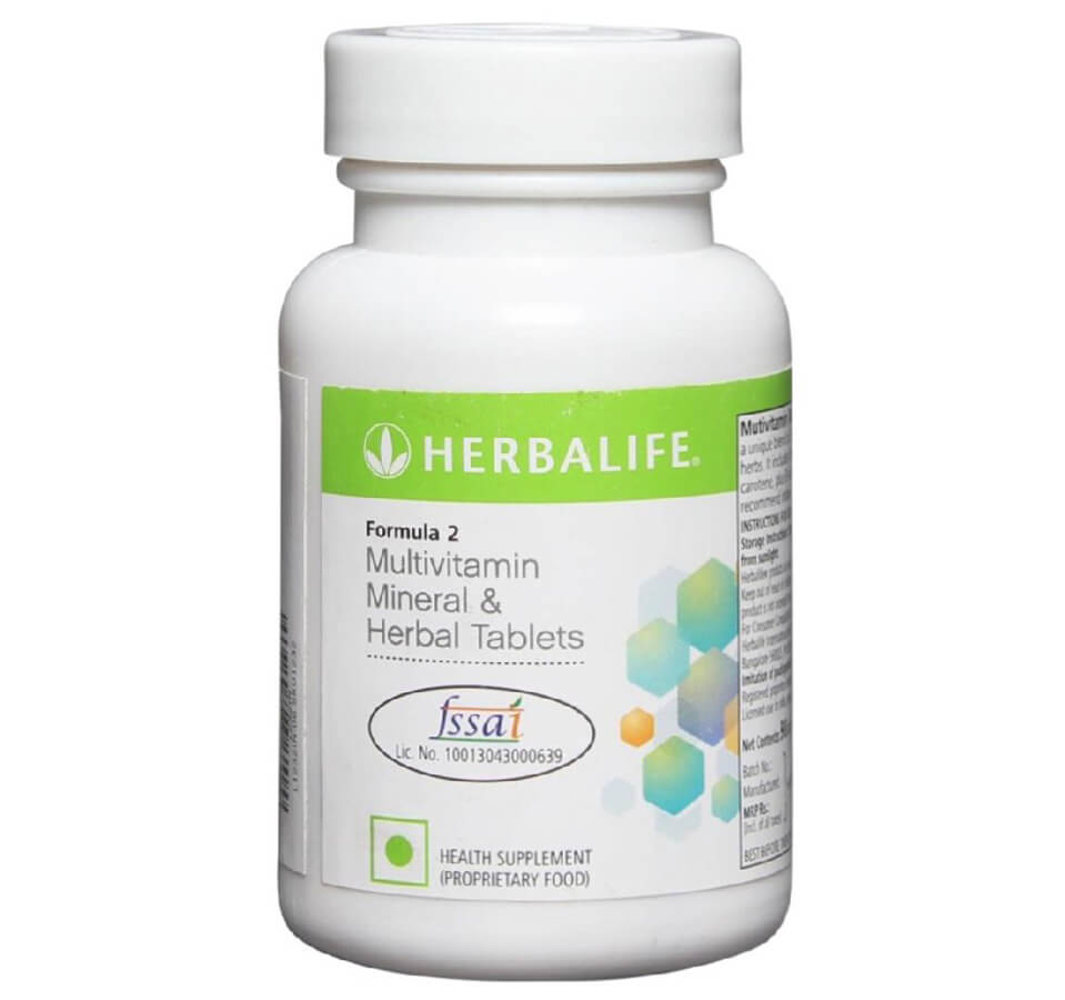 Herbalife Formula 2 Multivitamin Mineral And Herbal Tablets Image