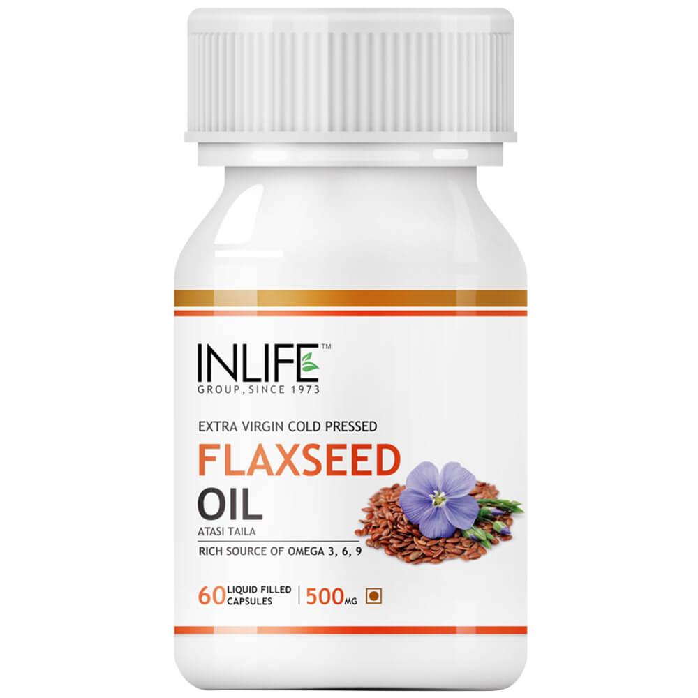 INLIFE Flaxseed Oil-Omega 3 Image