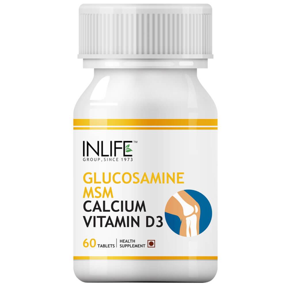 INLIFE Glucosamine + MSM Image
