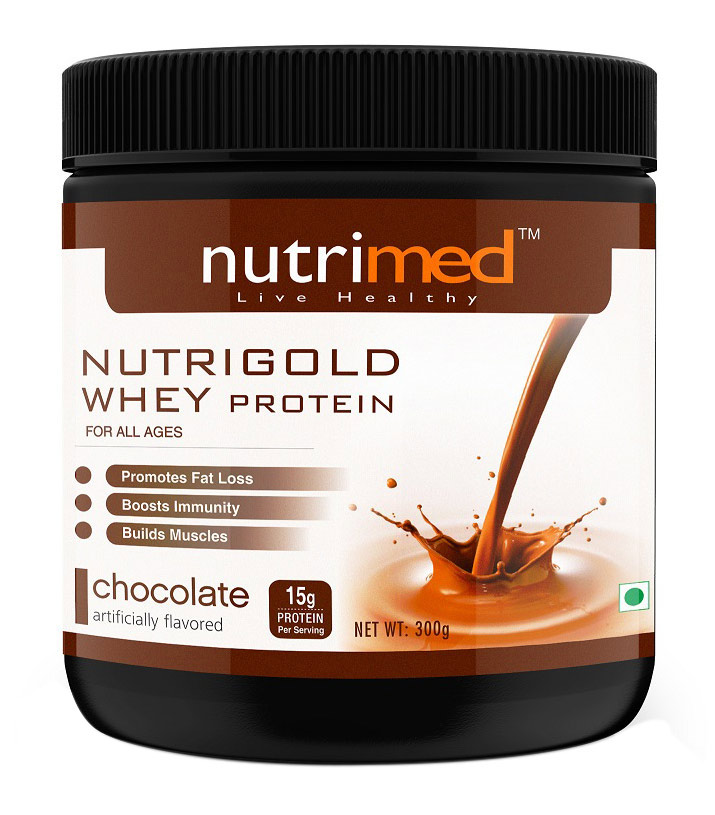 Nutrimed Nutrigold Whey Protein Image