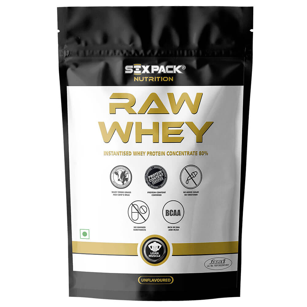 Six Pack Nutrition Raw Whey Image